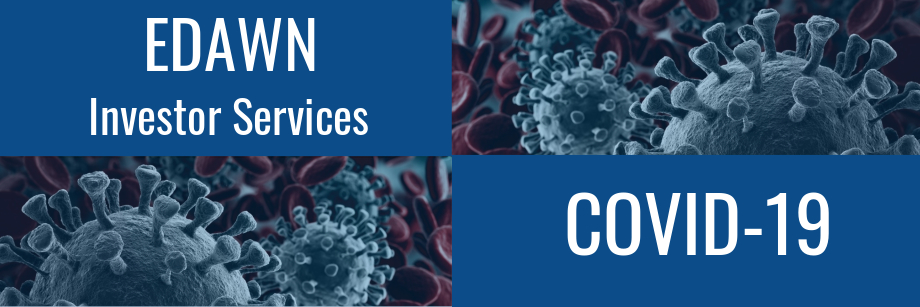 EDAWN Updates as it pertains to the Coronavirus